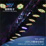 РАВЕНСТВО СИД с 120 PCS 3W греет белый или холодный свет РАВЕНСТВА литого алюминия белизны СИД