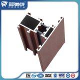 Profil de châssis de fenêtre en aluminium de l'isolation thermique 6063