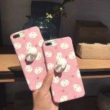 2017 새로운 도착 더하기 iPhone 7을%s 대중적인 귀여운 3D 토끼 셀룰라 전화 상자는, Samsung S6 S7 J5 J7를 위한 전화 상자를 주문을 받아서 만든다