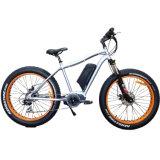Велосипед горы Electrict привода тучной автошины 26 дюймов СРЕДНИЙ