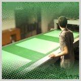 Placa de alumínio do picosegundo do positivo do revestimento verde