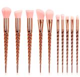 Maquiagem 메이크업은 10PCS/Lot 아름다움 화장품을 솔질한다
