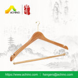 Bamboo Hanger avec crochet de finition en or (BSH201)