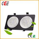"LED 스포츠 빛 2 "" 20W 4D Orasm Offroad 사각 LED 일 빛 LED 아래로 가벼운 LED는 상점가를 스포트라이트로 비춘다,"