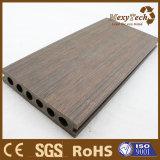 La madera tiene gusto del Decking al aire libre compuesto de la coextrusión de WPC para la venta al por mayor