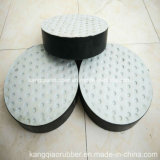 Almofada de borracha Elastomeric padrão do rolamento para a ponte feita na fábrica de China