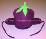 قطريّة صوف [إرفلبس] ثمرة قبعة مع ورقة ([ده-بب-451])