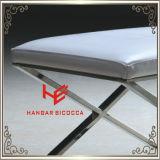 ホテルの腰掛け(RS161802)の居間の腰掛けのバースツールのクッションの屋外の家具店の腰掛けの店の腰掛けのレストランの家具のステンレス鋼の家具