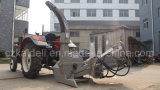 """6 """" che scheggiano lo sfibratore di legno montato trattore idraulico dell'alimentazione 30-100HP del diametro"""