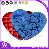 선물 포장 서류상 초콜렛 심혼 모양 사탕 상자
