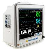 Monitor paciente de la venta de la máquina médica portable caliente del multiparámetro