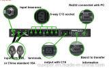 Msts-16A 240Vca monofásica de 2 polos de conmutador de Transferencia Automática Industrial