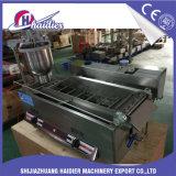 Machine van de Braadpan van de Doughnut van de Olie van het Gas van het Ce- Certificaat de Elektrische Mini Diepe Open