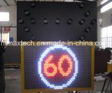 Sinal de mensagem de trânsito combinado e sinal de placa de seta de tráfego com alta qualidade
