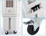 Acondicionador de aire móvil plástico con el interior usado ventilador del refrigerador de aire del motor/afuera
