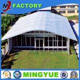 カーブの形PVC高品質の贅沢な屋外の透過結婚式のテント