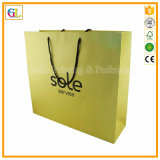 Bolso de empaquetado de papel, bolso de compras de papel, bolsa de papel