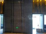 El hotel de la construcción proyecta la fabricación de la pantalla de Divder del metal de la pared de partición del acero inoxidable
