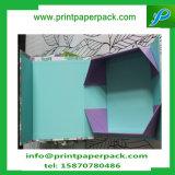 Luxe fait sur commande gravant la boîte-cadeau de empaquetage de cadre de carton pliable avec la garniture intérieure de mousse