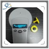 Marque d'oreille électronique d'IDENTIFICATION RF animale de Fdx-B TPU