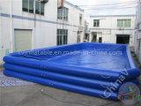 Dunkelblauer aufblasbarer Swimmingpool/riesiges aufblasbares Wasser-Pool