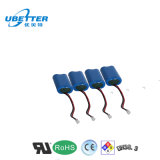Batterie d'ion de lithium de la qualité 18650 3.7V 4400mAh 1s2p