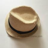 Sombrero de Panamá de la paja del papel de la promoción de la intervención de BSCI (HW02)