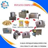 50/100/200kg/h Semiautomáticos Chips de batata a linha de produção para venda