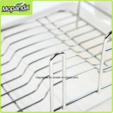 Taille de la crémaillère XL d'égouttoir de bassin, Stainless/PP