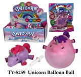 Het hete Grappige Stuk speelgoed van de Bal van de Ballon van de Eenhoorn
