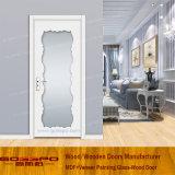 Деревянная нутряная дверь комнаты с стеклянными панелями (GSP3-046)