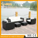 Pátio com jardim mobiliário de Lazer Sala Varanda sofá de vime definido