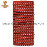 Bandana tubolare di marca della sciarpa senza giunte su ordinazione di Headwear