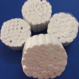 Exportation du roulis de coton dentaire absorbant remplaçable de qualité normale