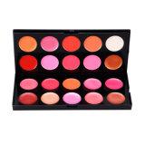 메이크업 팔레트 20 경이로운 색깔 메이크업 장비, Lipgloss