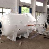 Ce/PED genehmigte 1000X2000mm verpackten Schiene-Eingehangenen zusammengesetzten Autoklav für Labor