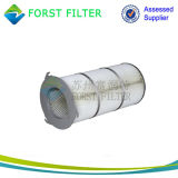 Forst polvo tres pliegues las orejetas de cartucho de filtro de aire