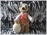 Заполненная таможней игрушка плюша Mongoose