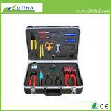 Инструментальный ящик Lk-6004 профессионального сплавливания оптического волокна соединяя