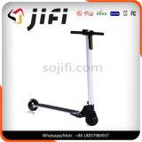 Scooter électrique de deux roues d'équilibre sec pliable d'individu, panneau 24V de coup-de-pied