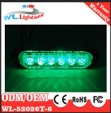 Super Thin 6 LED Linear Module Police Exterior Lighting