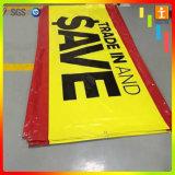 Impression faite sur commande de bandeau publicitaire de PVC de vinyle