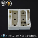 Pezzi meccanici di ceramica dell'allumina a temperatura elevata