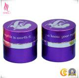 Tarro púrpura redondo del Silk-Screen con el servicio del OEM para empaquetar