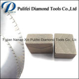 Этап алмазного резца 3500mm вырезывания блока гранита грубый
