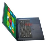 15.6 polegadas HD Intel Cherrytrail Z8350 Quad-Core Fingerprint Laptop com 4G / 64G (AZ156B)