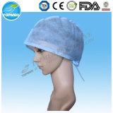 使い捨て可能なNonwoven使い捨て可能な外科帽子、PPの帽子
