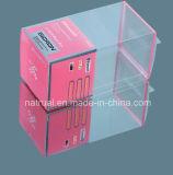 작은 플라스틱 상자를 도매로 포장하는 인쇄된 명확한 PVC