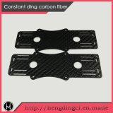 Волокнистая плита для частей Uav, отрезок углерода CNC шассиего RC