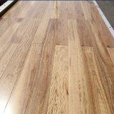 紫外線ラッカーを塗られた固体Blackbuttの材木の床